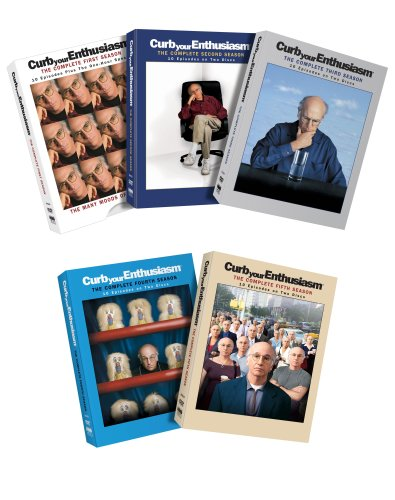 Curb Your Enthusiasm - The Complete First Five Seasons DVD