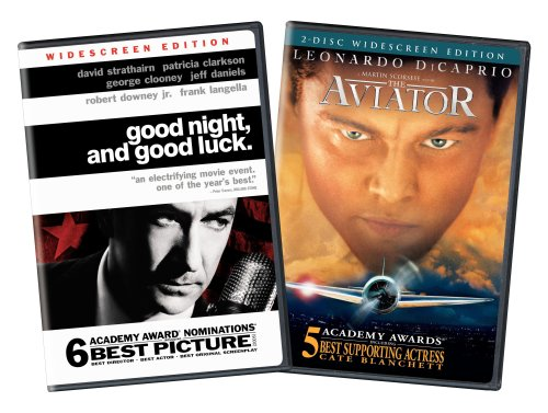 Good Night and Good Luck/The Aviator DVD