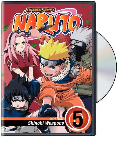 Naruto, Vol. 5 - Shinobi Weapons DVD