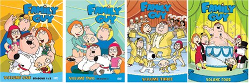 Family Guy - Volumes 1-4 DVD