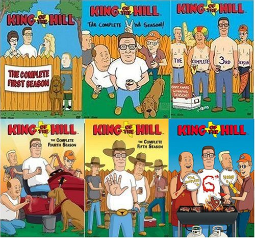 King of the Hill - Seasons 1 - 6 DVD
