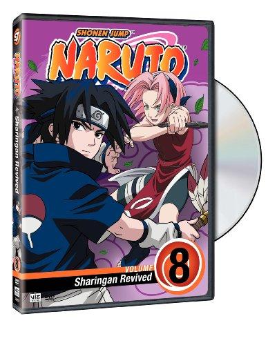 Naruto, Vol. 8: Sharingan Revived DVD