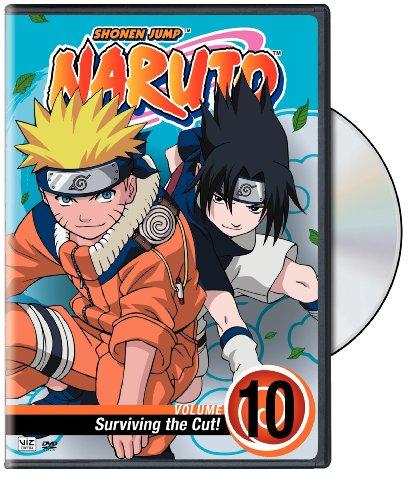 Naruto, Volume 10: Surviving the Cut DVD