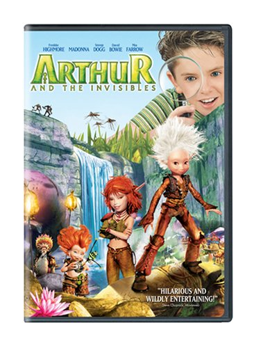 Arthur and the Invisibles  DVD