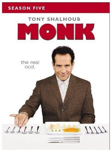 Monk - Season Five DVD
