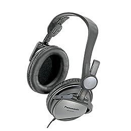 パナソニック 密閉型ヘッドホン ノイズキャンセリング グレー RP-HC150-H