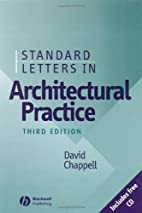 Standard Letters in Architectural Practice…