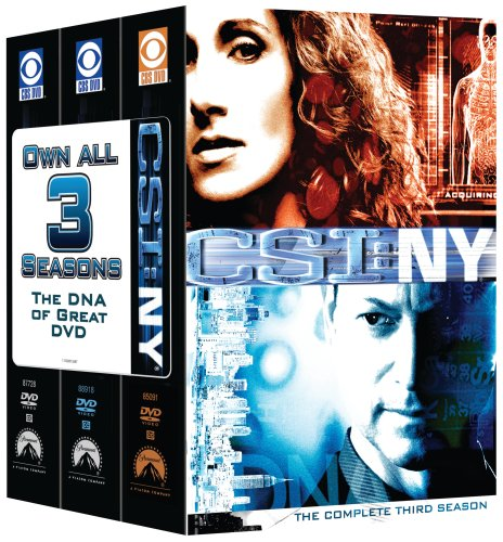 CSI: NY - 3 Season Pack DVD