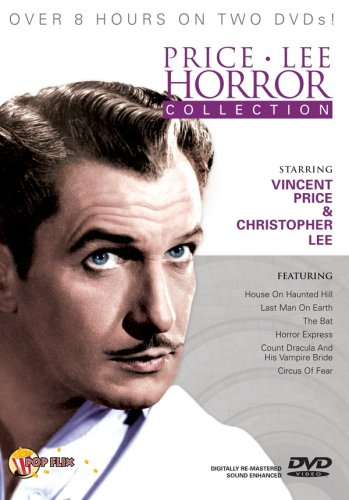 Vincent Price and Christopher Lee Horror Collection