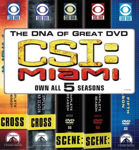 CSI Miami: Five Season Pack DVD