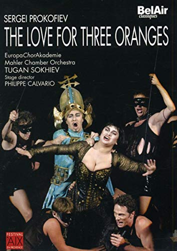 Prokofiev: The Love of Three Oranges [DVD Video]