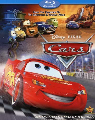 Disney Cars Dvd Cover