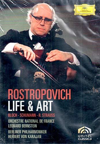 Rostropovich: Life & Art [DVD Video]