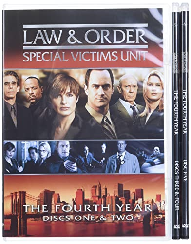 Law and Order: Special Victims Unit - The Fourth Year DVD