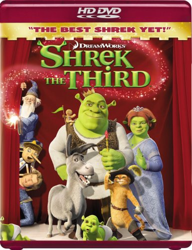 Shrek the Third [HD DVD] DVD