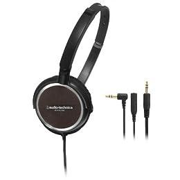 audio-technica ポータブルヘッドホン ATH-FC700 BK