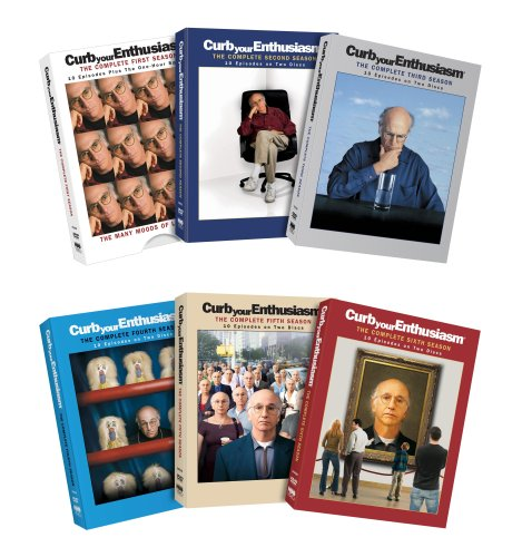 Curb Your Enthusiasm: The Complete Seasons 1-6 DVD