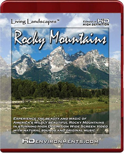 Living Landscapes HD Rocky Mountains (HD DVD Version)