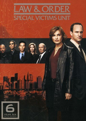 Law and Order: Special Victims Unit - The Sixth Year DVD