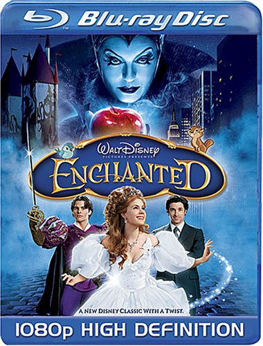Get Enchanted On Blu-Ray