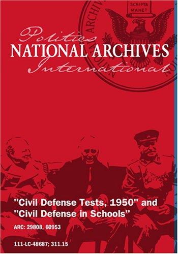 CIVIL DEFENSE TESTS, 1950 [SILENT]