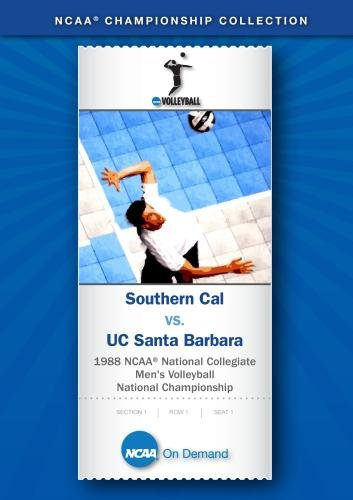 1988 NCAA National Collegiate Men's Volleyball National Championship - Southern Cal vs. UC Santa Bar