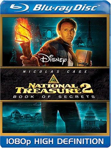 National Treasure: Book of Secrets [Blu-ray] DVD