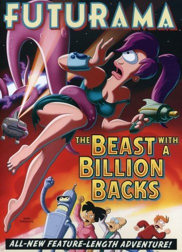 Get Futurama: The Beast With A Billion Backs On Video