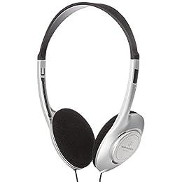 audio-technica オープン型 オンイヤー ヘッドホン シルバー ATH-P100L