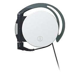 audio-technica 両側巻取りイヤフィットヘッドホン ATH-EQ700 WH