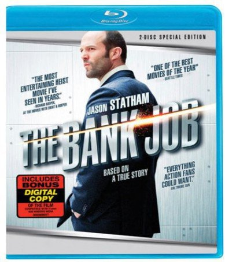 The Bank Job [Blu-ray + Digital Copy] DVD