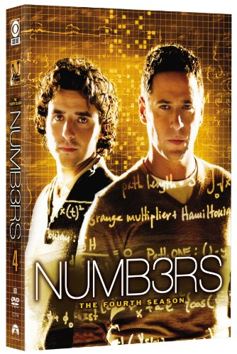Numbers - The Complete Fourth Season DVD