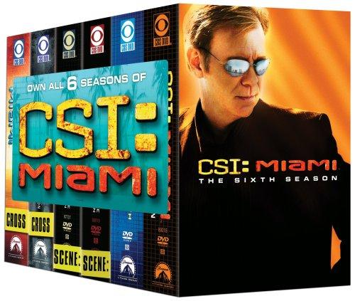 C.S.I. Miami - Seasons 1-6 DVD