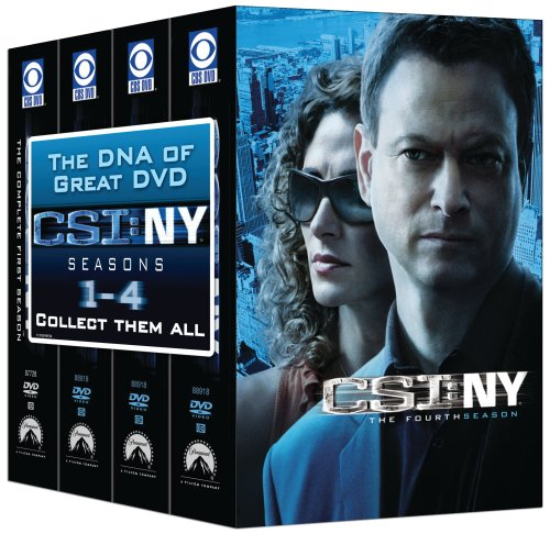 CSI: NY - 4 Season Pack DVD
