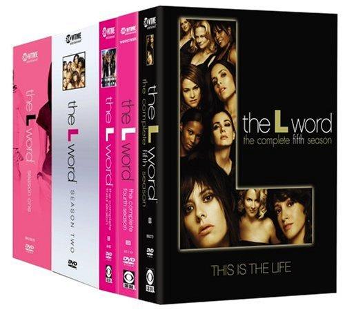 The L Word - Seasons 1-5 DVD