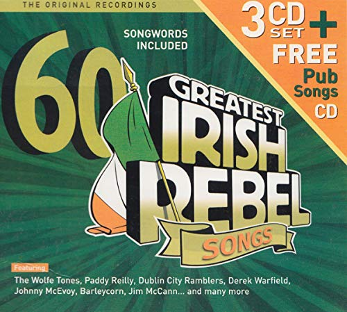 60 Greatest Ever Irish Rebel Songs, Various