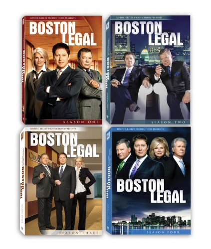 Boston Legal - Seasons 1-4 DVD