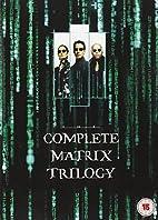 The Complete Matrix Trilogy Blu Ray