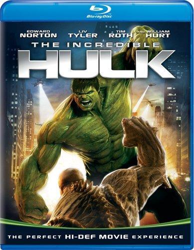 The Incredible Hulk [Blu-ray] DVD