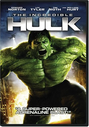 The Incredible Hulk  DVD