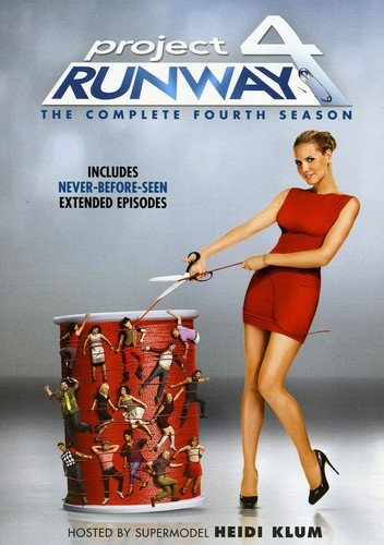 Project Runway: The Complete Fourth Season DVD