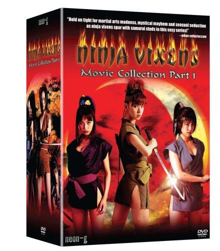 Ninja Vixens: Movies 1-5 Box Set