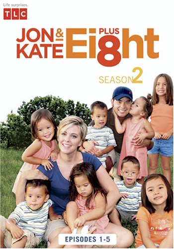 Jon & Kate Plus 8 Season 2 - Episode 1-5 DVD
