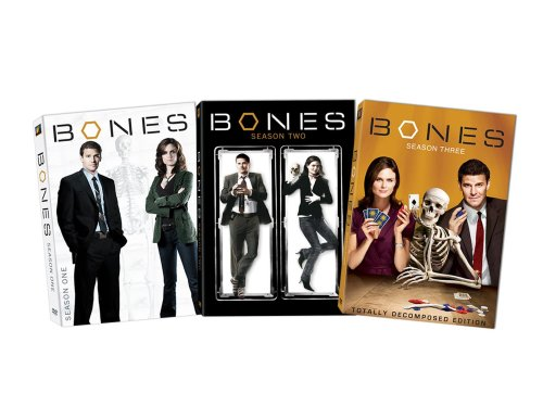 Bones - Seasons 1-3 DVD