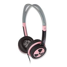 ifrogz ヘッドホン iPhone iPodに好適 Toxix(トクシー) ピンク色