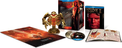 Hellboy II: The Golden Army Collector's Set [Blu-ray] DVD