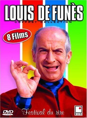 Coffret Louis De Funès 8 DVD