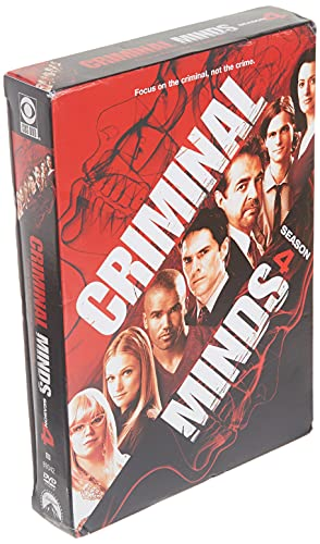 Criminal Minds: The Complete Fourth Season DVD