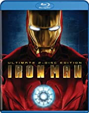 Iron Man (Two-Disc Ultimate Edition BD Live)…