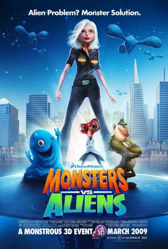 Get Monsters vs. Aliens On Video